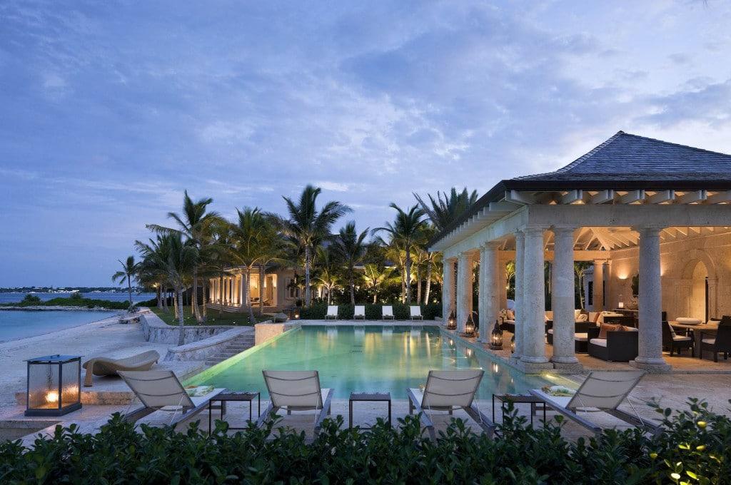 Paradise Is Villa & Pool, Location: Paradise Is. Bahamas, Architect: Marguerite Rodgers Ltd.